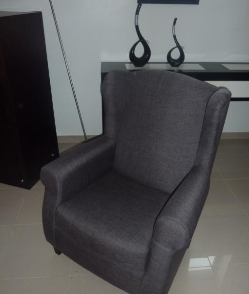 Cadeirao cinza