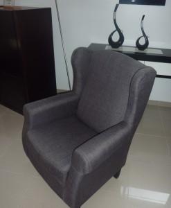 Cadeirao Orelhas cinza